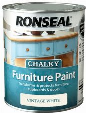 Ronseal Chalky Furniture Paint  All Colours